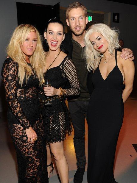 Ellie Goulding, Katy Perry, Calvin Harris and Rit