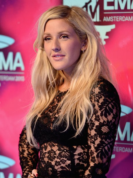 Ellie Goulding arrives at the MTV EMAs 2013