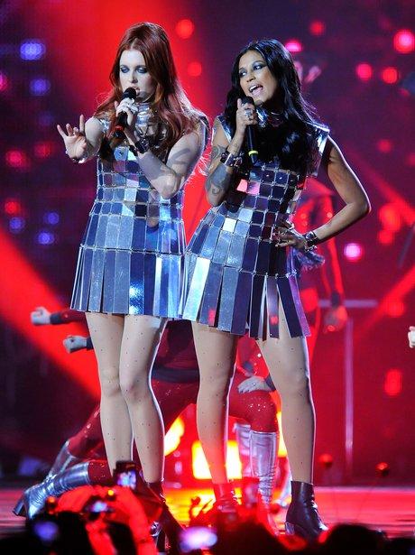 Icona Pop at the MTV EMAs 2013
