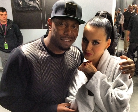 Katy Perry and Dizzee Rascal