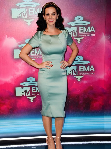 Katy Perry arrives at the MTV EMAs 2013