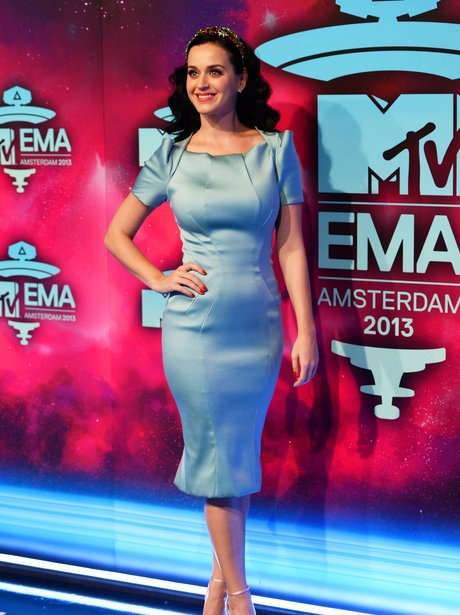 Katy Perry on the MTV EMAs 2013 Red Carpet