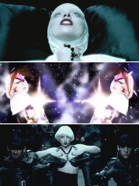 Lady Gaga's 'Alejandro' music video