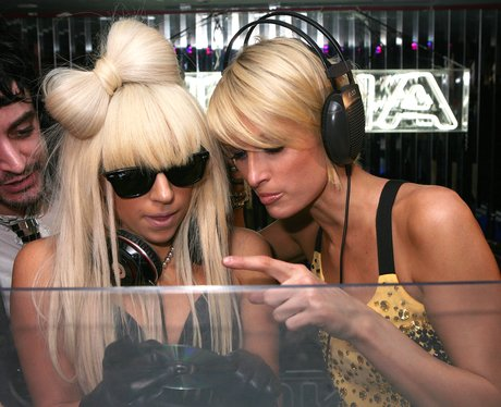 Lady Gaga and Paris Hilton