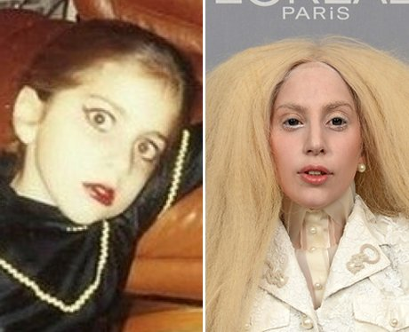Lady Gaga Baby Picture