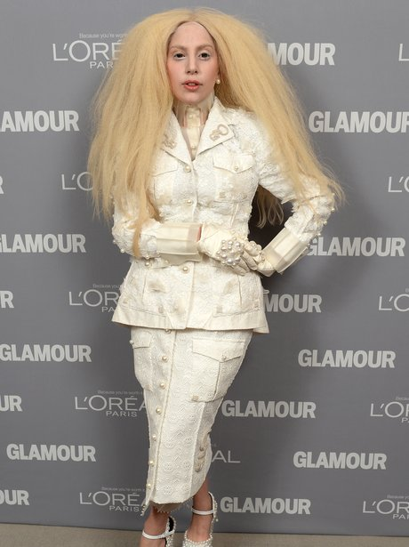 Lady Gaga Glamour Women Of The Year Awards 2013