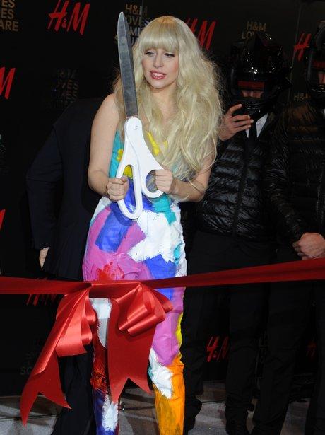 Lady Gaga H&M Opening