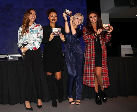 Little Mix album signing