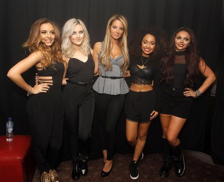 Little Mix and Tulisa at G-A-Y club in London