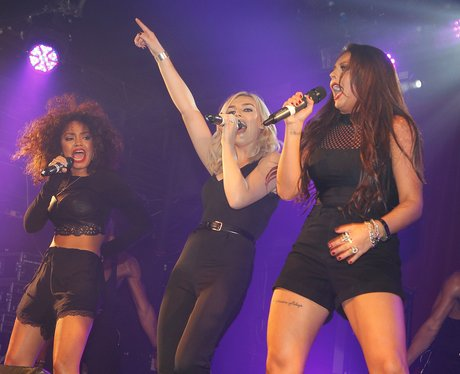 Little Mix perform at G-A-Y club in London