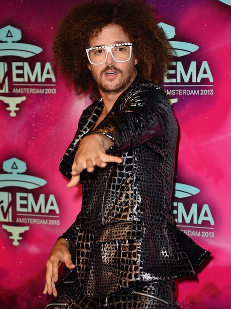 LMFAO star Redfoo arrives at the MTV EMAs 2013
