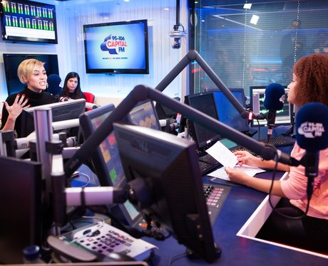 Miley Cyrus Capital FM webchat