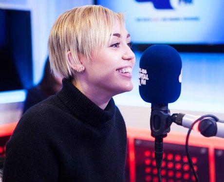 Miley Cyrus Capital FM webchat
