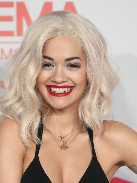 Rita Ora EMAs 2013