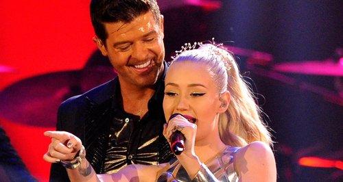 Iggy Azalea Talks Robin Thicke MTV EMAs 2013 Duet And 2014