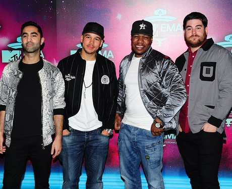 Rudimental on the MTV EMAs 2013 Red Carpet