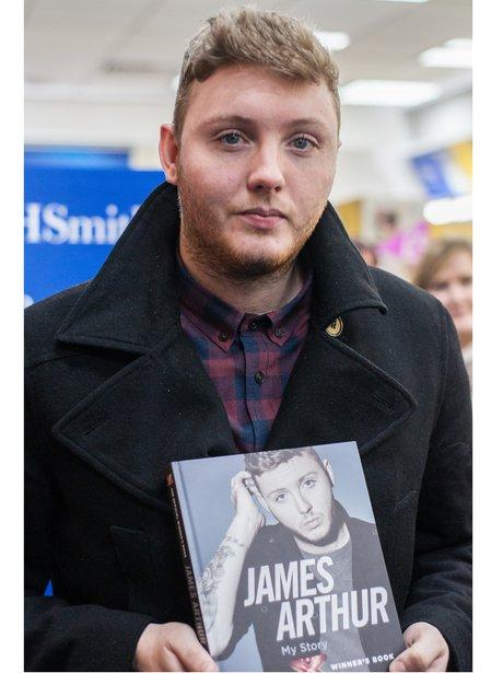 James Arthur Book