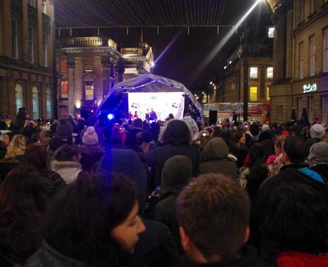 Newcastle Christmas Lights 2013