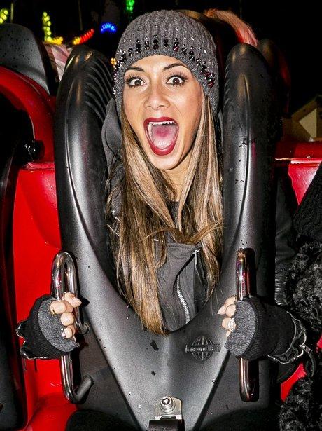 Nicole Scherzinger at Winter Wonderland