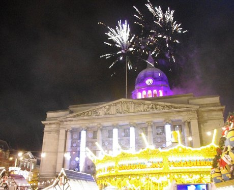 Nottingham Xmas Light Switch On