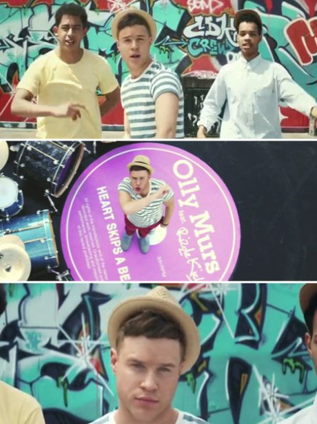 Olly Murs' 'Heart Skips A Beat' Music Video