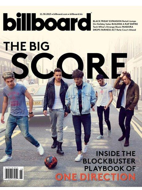 One Direction Billboard 2013