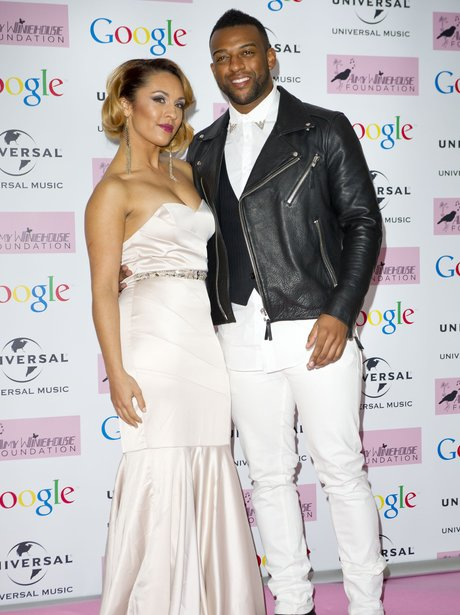 Oritse and his girlfriend