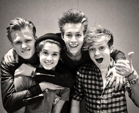 The Vamps pose in a new photoshoot
