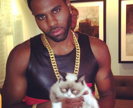 Jason Derulo and Cat