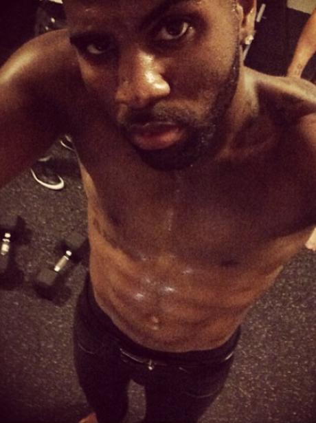 Jason Derulo topless
