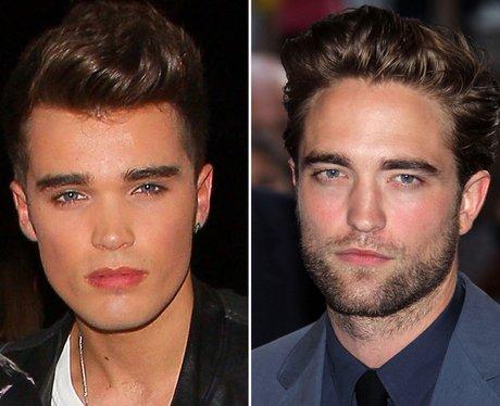 Josh Cuthbert vs. Robert Pattinson in a pout-off