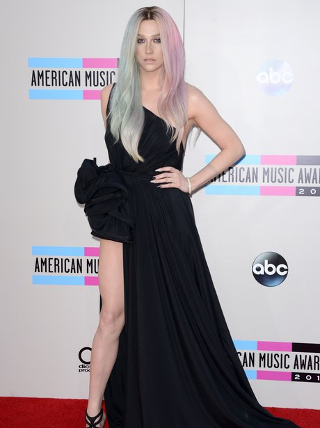 Ke$ha American Music Awards 2013 Red Carpet