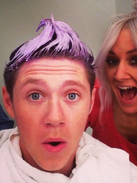 Niall Horan hair dye