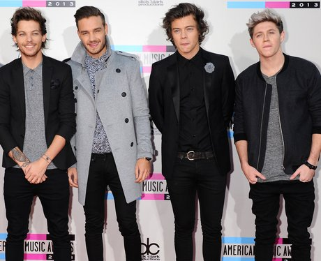 One Direction American Music Awards 2013 Red Carpe