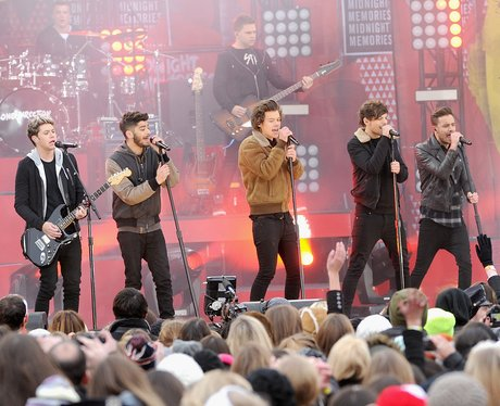 One Direction Good Morning America
