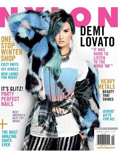 Demi Lovato Nylon Magazine 2013