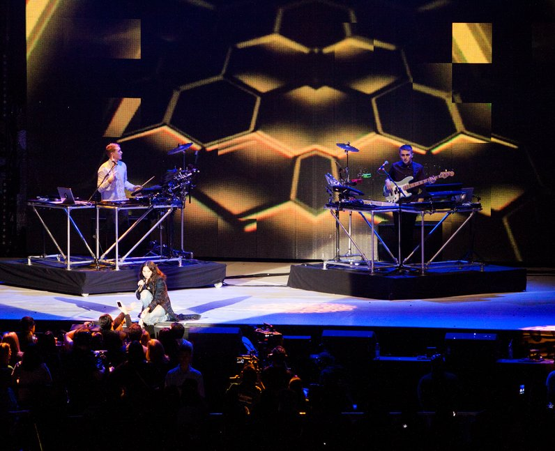 Disclosure live Jingle Bell Ball 2013