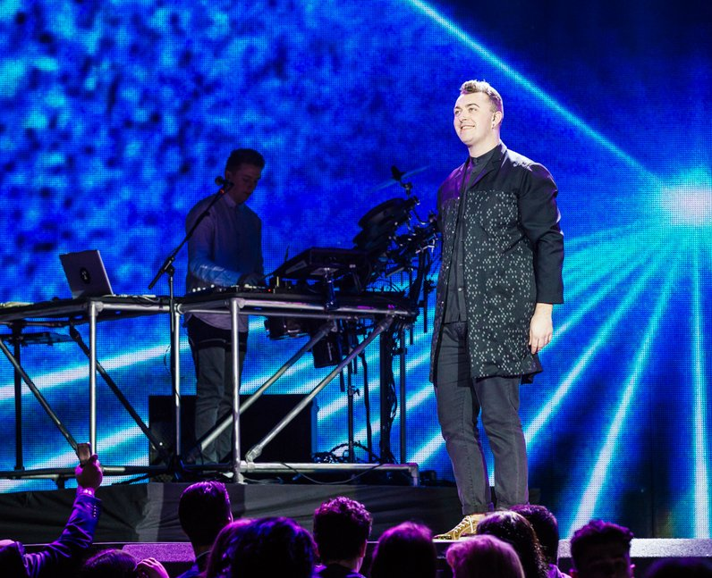 Disclosure with Sam Smith live Jingle Bell Ball 20