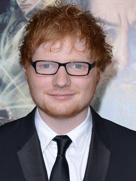 Ed Sheeran Hobbit Premiere