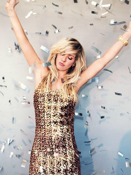 Ellie Goulding in Cosmopolitan magazine