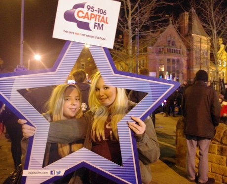 Hucknall Xmas Light Switch On