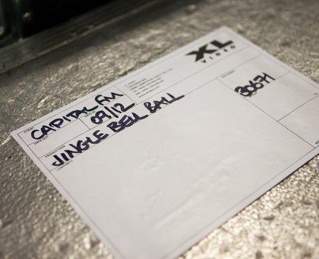 Jingle Bell Ball 2013: Backstage