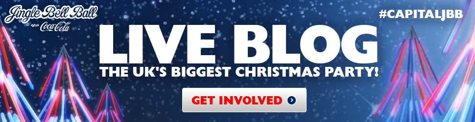 Jingle Bell Ball 2013: Live Blog Banner