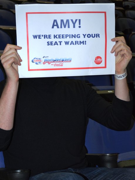 We're Keeping Your Seat Warm