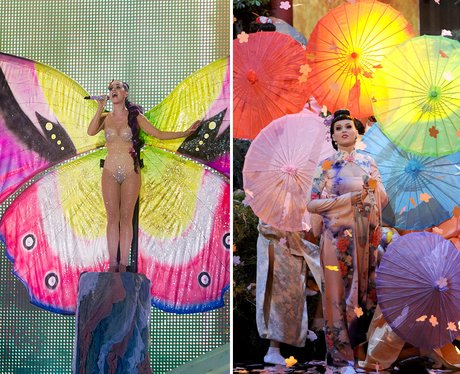 Katy Perry's stage props