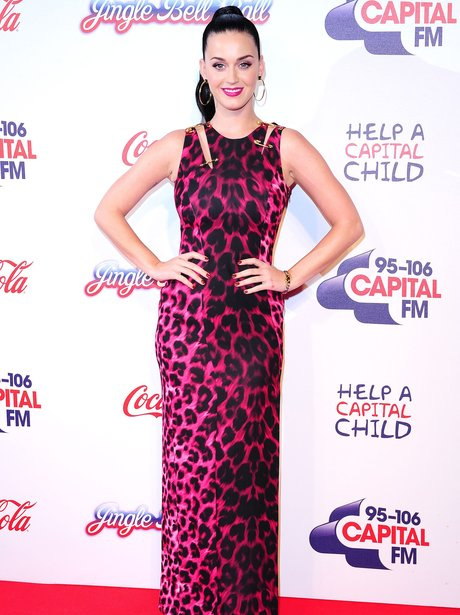 Katy Perry Red Carpet at the Jingle Bell Ball 2013