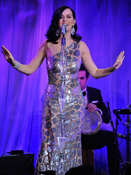 Katy Perry performs at UNICEF charity event