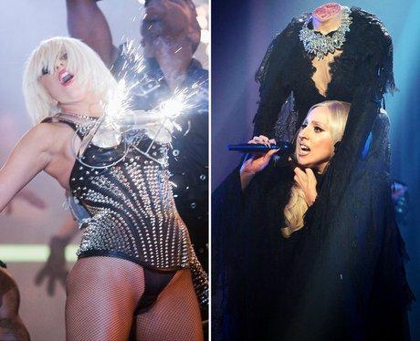 Lady Gaga's most shocking performances