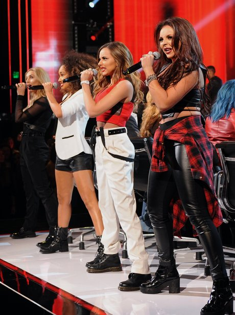 Little Mix performs on X Factor