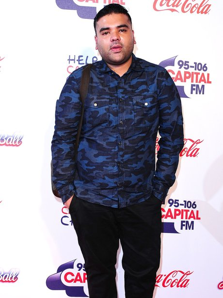 Naughty Boy Red Carpet Jingle Bell Ball 2013